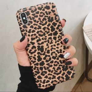 Accessories - iPhone X XS Leopard Case Cover